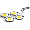 Chrome Plated Non-Stick 4 Egg Ring