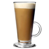 Elite Polycarbonate Latte Glasses Clear 8oz / 230ml