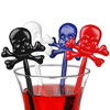 Skull & Crossbones Drink Stirrers