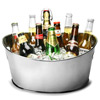 Stainless Steel Oval Party Tubs