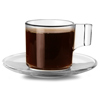 Indro Tazzina Coffee Cups & Saucers 3.3oz / 95ml