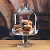 Master Class Artesa Footed Glass Domed Serving Stand