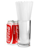 Collins Straws 8inch Clear