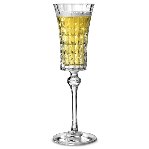 cristal d 39 arques lady diamond champagne flutes 150ml vintage champagne glasses arc. Black Bedroom Furniture Sets. Home Design Ideas