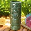 Ceramic Green Tiki Mug 14oz / 400ml