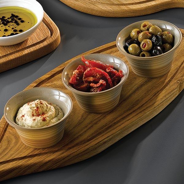 Art de cuisine igneous ramekins stoneware ramekins sauce for Art de cuisine vitrified stoneware