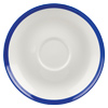 Churchill Retro Blue Coupe Saucer 6.3inch / 16cm