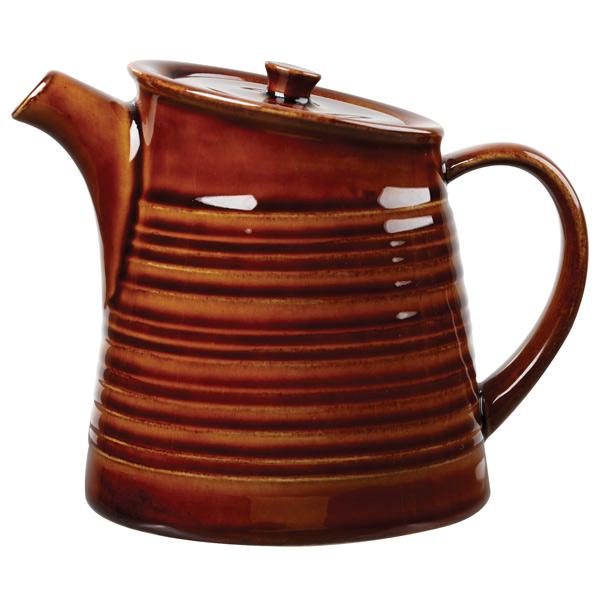Art de cuisine rustics snug tea pots 15oz 425ml brown for Art cuisine cookware reviews