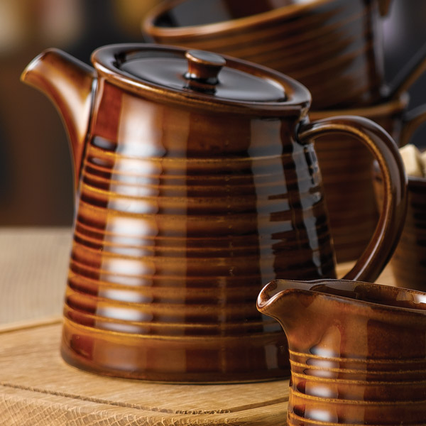Art de cuisine rustics snug tea pots 15oz 425ml brown for Art de cuisine vitrified stoneware