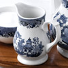 Churchill Vintage Print Blue Willow Georgian Sandringham Jug 5oz / 140ml