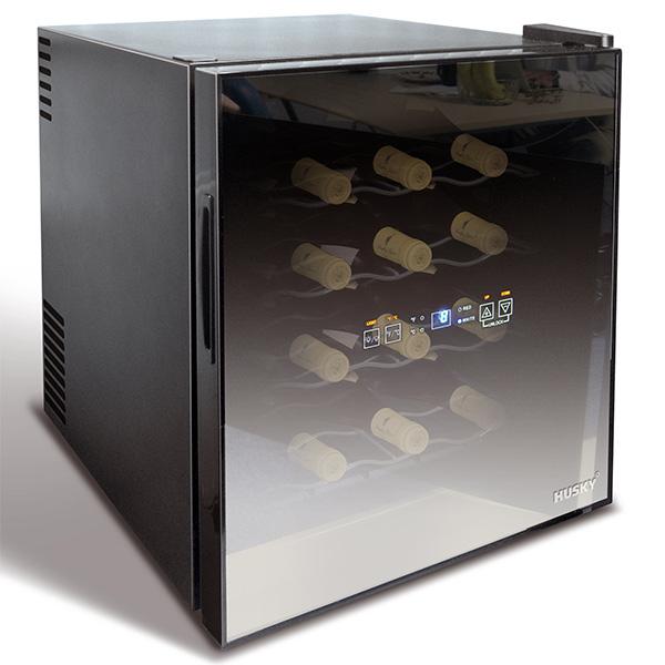reflections wine cooler husky mini fridge wine bottle. Black Bedroom Furniture Sets. Home Design Ideas