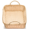 Ridal Rectangular Basket with Handles Natural 19 x 14 x 4inch