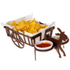 Welcome Wagon Nacho Basket and Mule Condiment Caddy