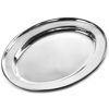 Stainless Steel Oval Meat Flat Small