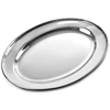 Stainless Steel Oval Meat Flat Medium