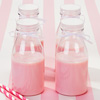 Mini Plastic Milk Bottles with Lids 11.25oz / 320ml