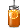 Plastic Mason Drinking Jar Tumblers 20oz / 568ml