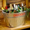 Galvanised Steel Drinks Party Tub