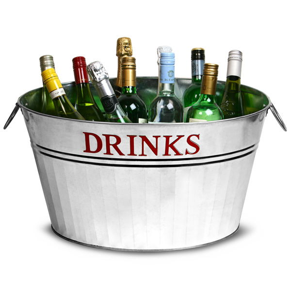 party tubs for drinks
