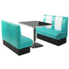 Retro Diner Booth Set Duck Egg Blue