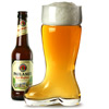 Glass Beer Boot 2 Pint