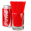 Sip Straws 5inch Red