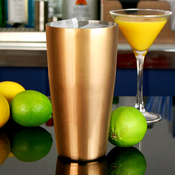 Gold Plated Boston Cocktail Shaker Tin | Boston Shaker Can Cocktail ...