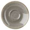 Churchill Stonecast Peppercorn Grey Espresso Saucer 11.8cm