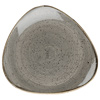 Churchill Stonecast Peppercorn Grey Triangular Plates
