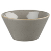 Churchill Stonecast Peppercorn Grey Zest Snack Bowl 12oz / 340ml