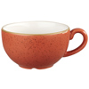 Churchill Stonecast Spiced Orange Cappuccino Cups