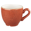 Churchill Stonecast Spiced Orange Espresso Cup 3.5oz / 100ml