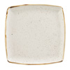 Churchill Stonecast Barley White Deep Square Plate 26cm