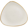 Churchill Stonecast Barley White Triangular Plates