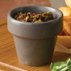 Churchill Bit On The Side Plant Pot Food Servers Pebble Grey