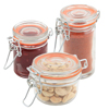 Genware Glass Terrine Jars