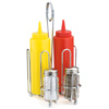 Combination Condiment Rack 5-Piece Set