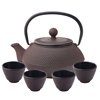 Japanese Cast Iron Teapot & Teacups