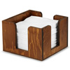 Wooden Cocktail Napkin Caddy