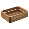 "Acacia Food Presentation Crate 8.75"" x 6.25"""