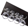 Steel Glass Rack 40cm