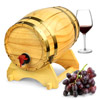 Wooden Wine Barrel Dispenser 5ltr